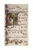 Miniature, Choir of Saint Romuald, Italy 15th Century Giclée-tryk af Lorenzo Monaco