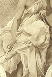 Terpsichore, Muse of the Choral Dance Photographic Print by Paul Baudry