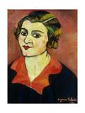 Autoportrait, 1934 Giclée-Druck von Suzanne Valadon
