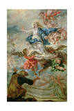 Assumption of the Virgin Mary, 1676 Giclée-Druck von Juan de Valdes Leal