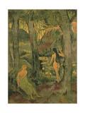Young Women Bathing, 1892 Gicléetryck av Paul Serusier