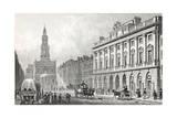 Somerset House Giclee Print by Thomas Hosmer Shepherd