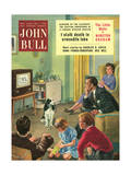 Front Cover of 'John Bull', May 1955 Giclee Print