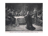 The Earl of Arran Accusing Morton of the Murder of Darnley 1581 Giclee Print by William Brassey Hole