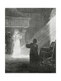 The Man in the Iron Mask, 19th Century Giclee Print by Tony Robert-fleury