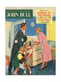 Front Cover of 'John Bull', January 1957 Giclee Print