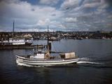 Halibut Fishing Vessel Alma in Salmon Bay Photographic Print by Ray Krantz