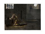 Saint John the Baptist in Prison 19Th-Century Print Reproduction procédé giclée par Stefano Bianchetti