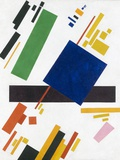 Suprematist Composition by Kazimir Malevich Giclée-tryk af Kasimir Malevich