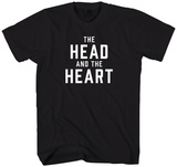 The Head and the Heart - Logo Magliette