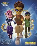 Matt Hatter - Heroes Posters