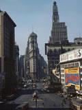 Times Square Stampa fotografica di Philip Gendreau