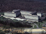 Aerial View of CIA Building Photographic Print