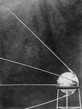 Soviet Satellite Sputnik I Fotografie-Druck