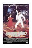 Poster for the Film 'Saturday Night Fever', 1977 Giclée-vedos