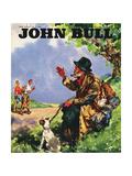 Front Cover of 'John Bull', July 1946 Giclee Print