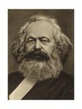 Karl Marx Giclée-tryk