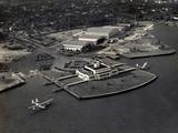 Pan Am Seaplane Base, Dinner Key, Florida, 1930S Fotografie-Druck