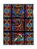 Window W209 Depicting a Scene from the Life of St Savinien: Aurelian Orders Savinien to Be Tortured Giclee Print