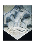 Hercules Carrying an Erymanthian Boar, Votive Relief, 5th Century BC Giclee Print