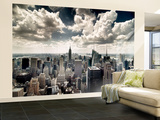 View of Manhattan, New York Wall Mural – Large by Steve Kelley