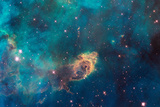 Jet in Carina WFC3 UVIS Full Field Space Photo Kunstdrucke