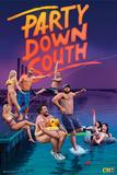 Party Down South - Group Kunstdrucke