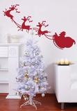 Christmas Sleigh Adesivo de parede