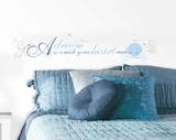 Cinderella A Dream is a Wish Peel and Stick Wall Decals Vinilo decorativo