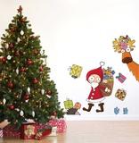 Papai Noel Adesivo de parede