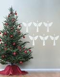 Anjos natalinos Adesivo de parede