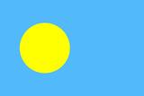 Palau National Flag Posters