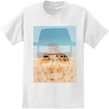 Breaking Bad - Heisenberg Face with RV T-Shirt