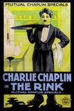 The Rink Movie Charlie Chaplin Poster Print Billeder