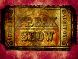 Freak Show Ticket 2 Kunstdrucke