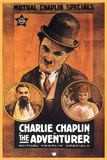 The Adventurer Movie Charlie Chaplin Poster Print Poster