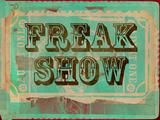 Freak Show Ticket Fotografia