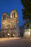 Charlemagne Statue Below the Cathedral Notre Dame, Paris, France Reproduction photographique par Brian Jannsen
