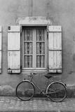 France, Poitou Charentes Bike Marans Impressão em tela esticada por Walter Bibikow