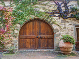 Italy, Tuscany, Chianti Region. This Is the Castello D'Albola Estate Photographic Print by Julie Eggers