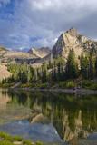 Lake Blanche and Sundial with Reflection, Utah Valokuvavedos tekijänä Howie Garber