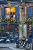 Historic La Perouse Restaurant in Saint Germain Des Pres, Paris France Fotografisk trykk av Brian Jannsen