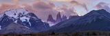 Las Torres after Sunset. Torres Del Paine NP. Chile. UNESCO Biosphere Lámina fotográfica por Tom Norring