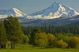 Bucolic Landscape, Black Butte Ranch, Sisters, Oregon, Usa Photographic Print by Michel Hersen