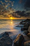 Hidden Stairs to the Beach in Carlsbad, Ca Photographic Print by Andrew Shoemaker