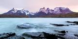 Cordillera Del Paine. Granite Monoliths. Torres Del Paine NP. Chile Lámina fotográfica por Tom Norring