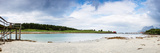 Panoramic Shot of Norwegian Seaside during Lowtide Fotografisk trykk av  Lamarinx
