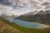Eklutna Lake and Bold Peak, Chugach State Park, Alaska Reproduction photographique par Howie Garber