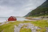 Seaside Building in Northern Norway Fotografisk trykk av  Lamarinx