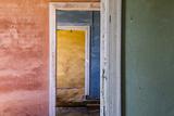 Africa, Namibia, Kolmanskop. Interior of Deserted Home Fotografisk tryk af Jaynes Gallery